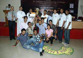 Joshiana 2.0 Beta Runners-Up went to MCA team of AIMIT, Mangalore